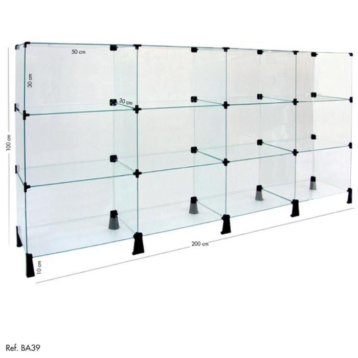 74b22934fecc1 Balcão de vidro